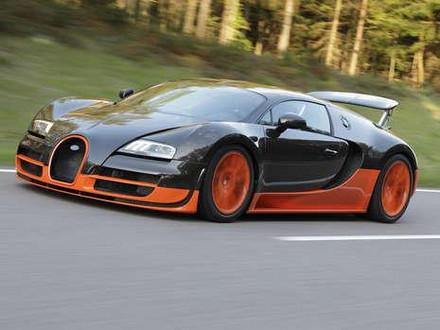 De top in de topsnelheid: Bugatti Veyron Super Sport