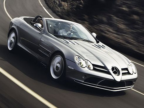 Mercedes SLR: volg de ster