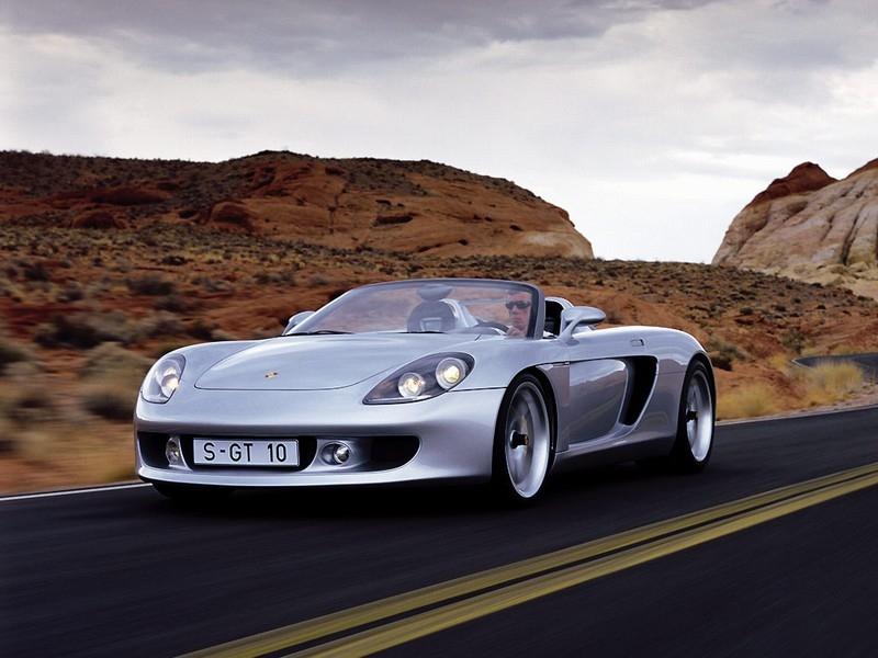 De Porsche Carrera GT